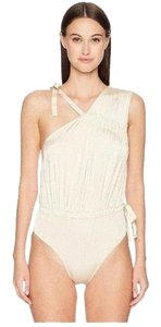 Derek Lam Asymmetric Ruched One Piece