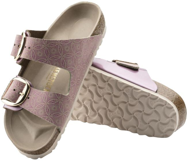 Item - Ceramic Rose Leather Sandals Size US 5 Narrow (Aa, N)