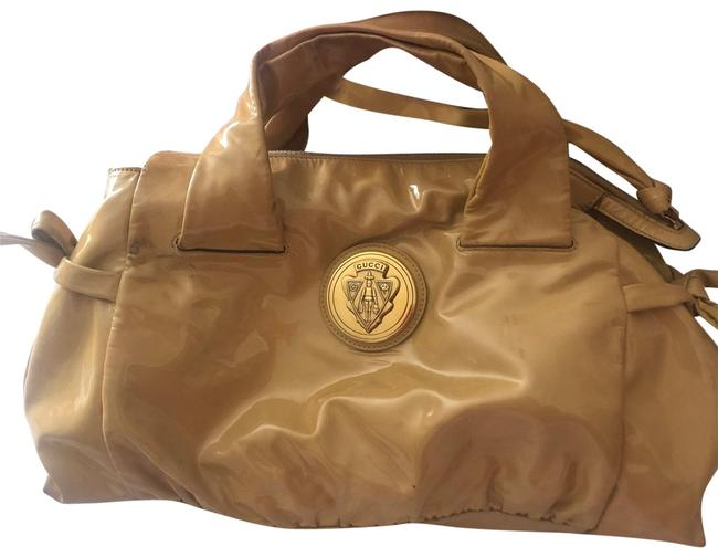 Item - Hysteria With Crest Nude Patent Leather Tote