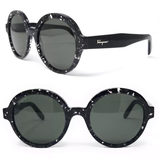 Preload https://img-static.tradesy.com/item/24993423/salvatore-ferragamo-black-havana-round-sunglasses-0-0-540-540.jpg