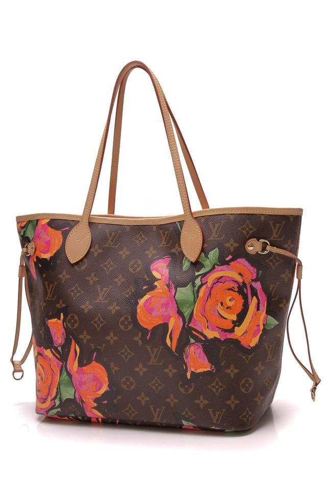 Louis Vuitton Neverfull Stephen Sprouse Roses Mm - Monogram Brown ... 7197ca722d3c3