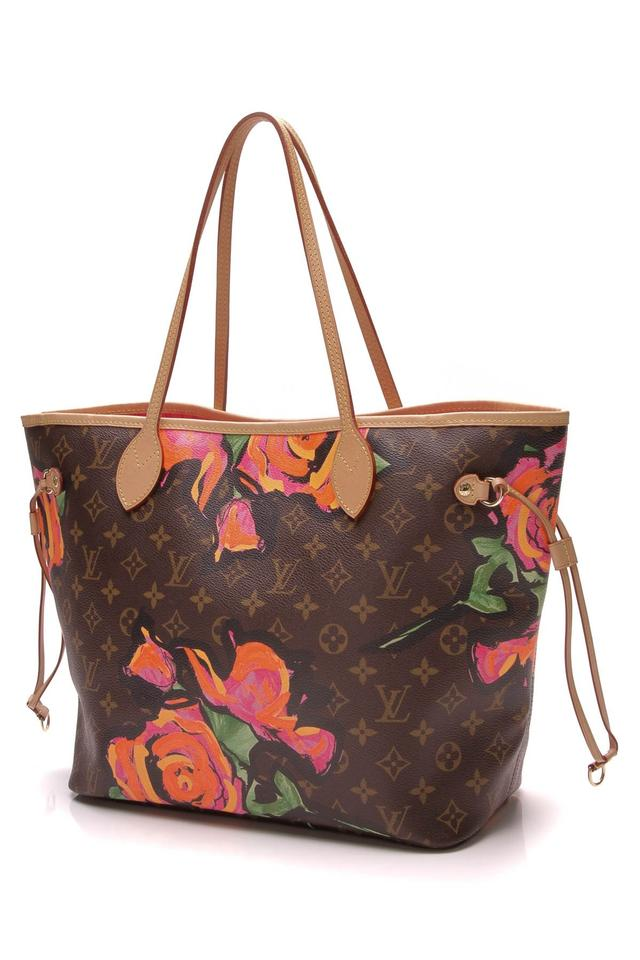 Louis Vuitton Neverfull Stephen Sprouse Roses Mm - Monogram Brown Coated  Canvas Tote - Tradesy 2f04338edb7e6