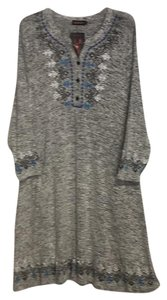 Reborn short dress gray on Tradesy