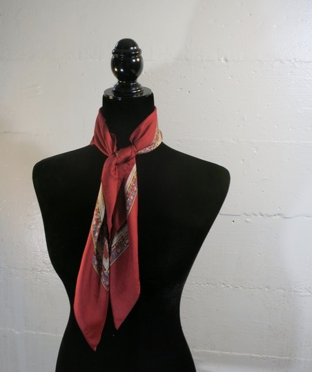Liberty of London Liberty of London Silk scarf RED floral Image 3
