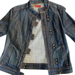 Citizens of Humanity blue Womens Jean Jacket