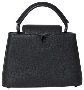 Louis Vuitton So Capucines Tote in Black