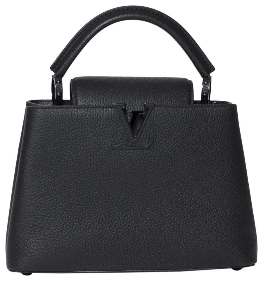 1d47727734bd Louis Vuitton Capucines Bb In So Black Leather Tote - Tradesy