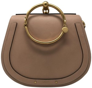 Chloé Nile Nile Cross Body Nile Biscotti Beige Messenger Bag