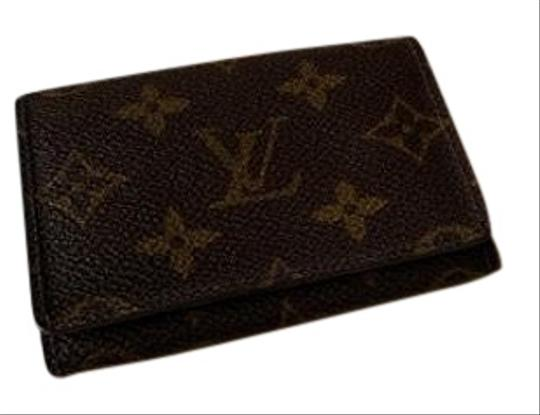 ade0cf82ccbb Louis Vuitton Brown Monogram Business Card Case Wallet - Tradesy