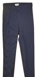 Avenue Montaigne Capri/Cropped Pants NAVY/WHITE