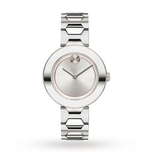 Movado Stainless Sunray Dial Midsize 3600381