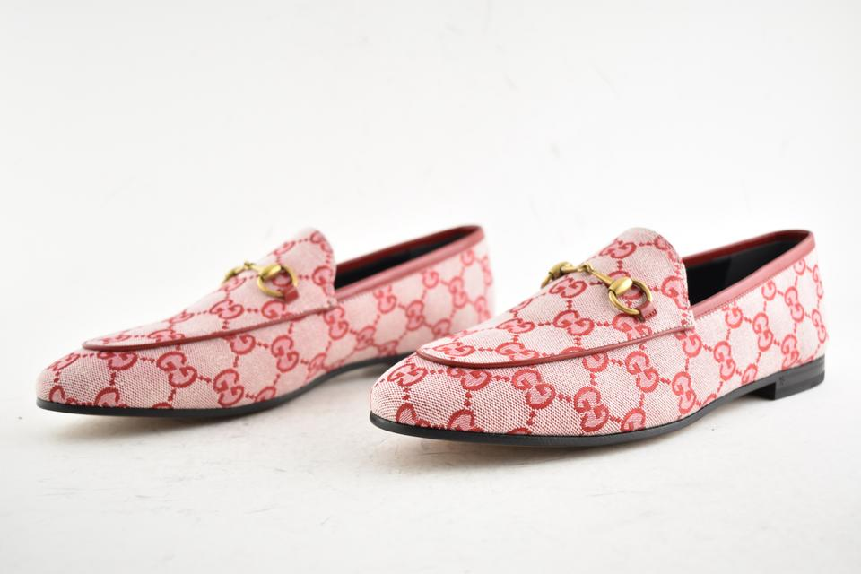 277a48821 Gucci Princetown Loafer Mule Slide red Flats Image 11. 123456789101112