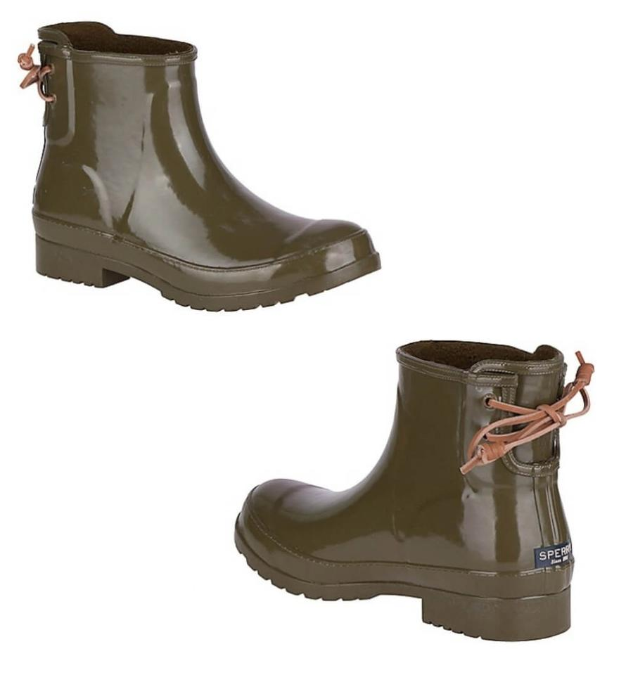 Sperry Womens Walker Turf Ankle Boots