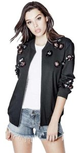 Guess Black, Red Jacket