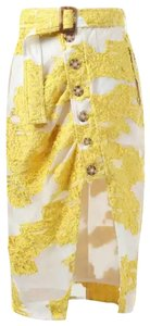 self-portrait Skirt yellow