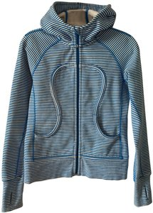 Lululemon Lululemon Classic Scuba Hoodie Stripe Cotton Fleece