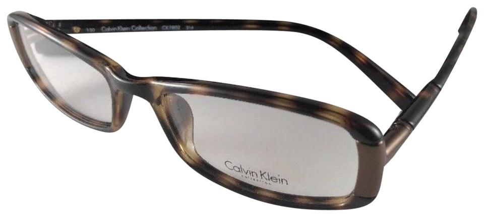 3eb82f0e5b Calvin Klein New CALVIN KLEIN COLLECTION Eyeglasses CK 7802 214 Brown  Tortoise Image 0 ...