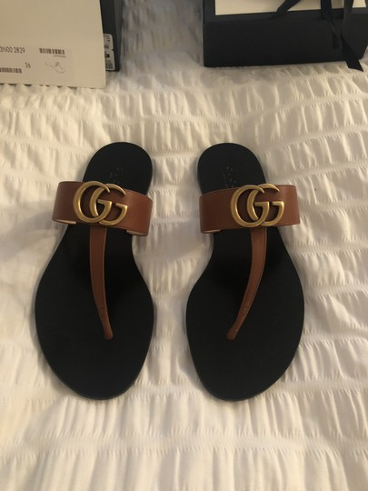 Gucci Black and brown Sandals