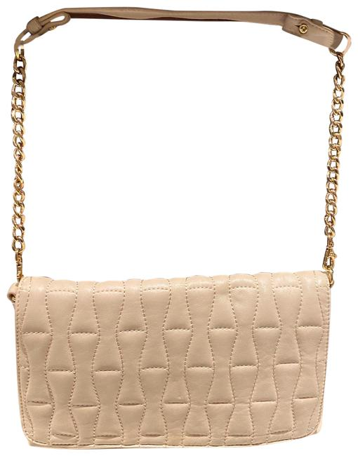 Item - Evening Bag Evening Bag/Clutch Nude/Blush Leather Clutch