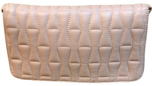 Badgley Mischka nude/blush Clutch