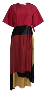 Multicolor Maxi Dress by ISSA London Color-blocking