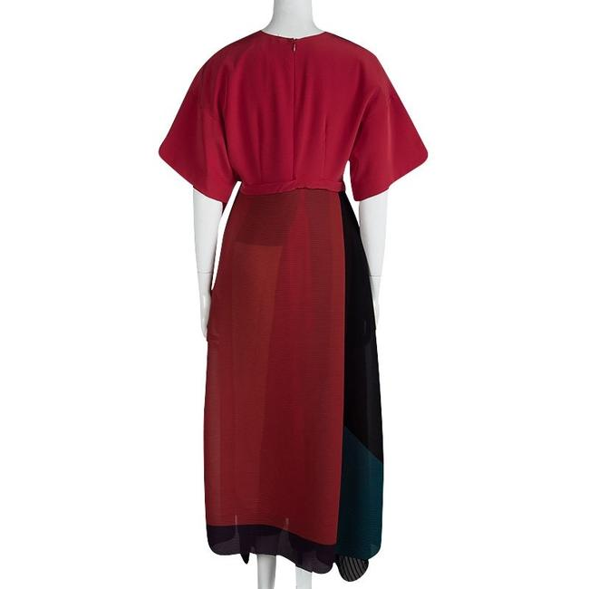 Multicolor Maxi Dress by ISSA London Color-blocking Image 1