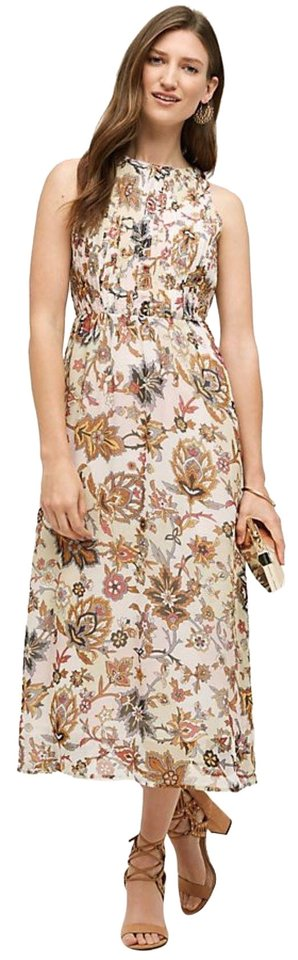 f75ff0b89ab1a Anthropologie Multi Floral Terrace Midi By One Fine Day Mid-length ...