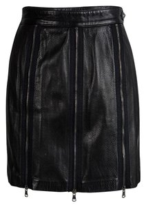 Moschino Detail Mini Skirt Black