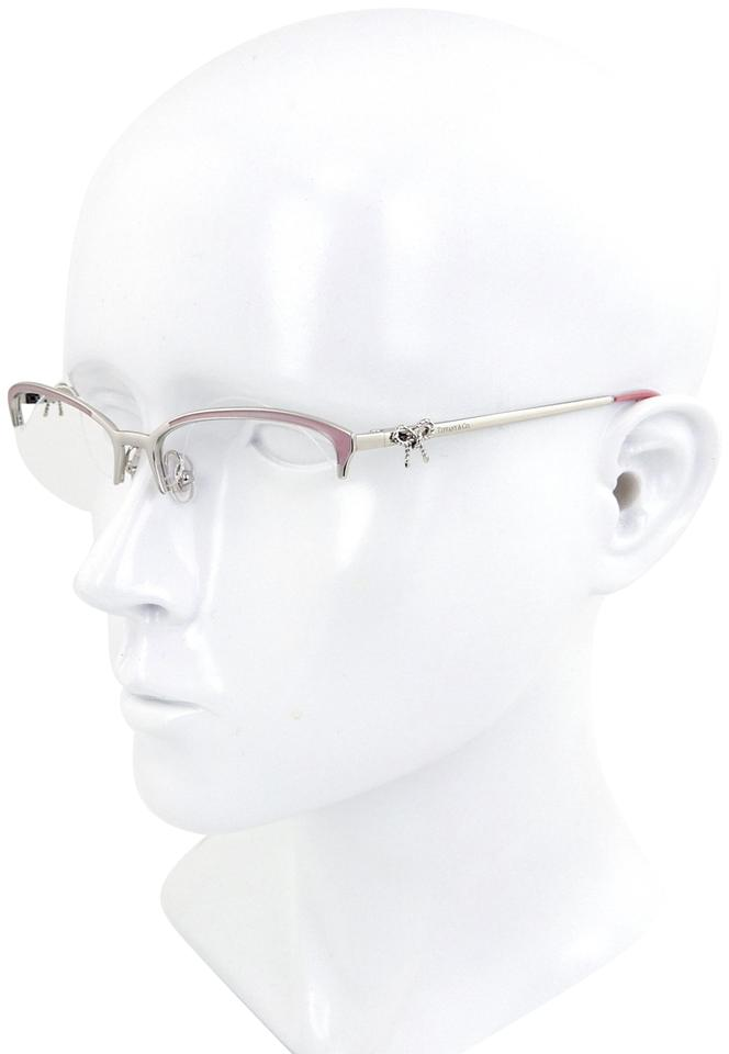 2c1020c2b402 Tiffany   Co. Silver Pink Blue Tf1102 6001 Rx Frames Only 55mm Sunglasses