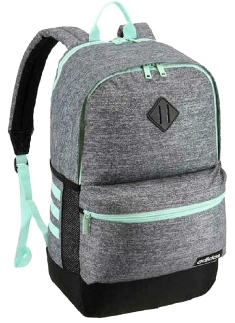 Item - Classic Core Green/Gray- Mint Green/Gray Polyester Backpack