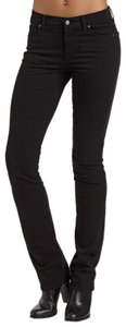 Citizens of Humanity Mid Rise Soft Stretchy Straight Leg Jeans-Dark Rinse