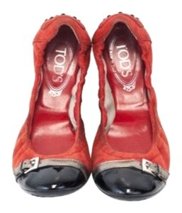 Tod's Red Flats