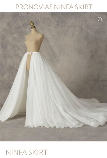 Preload https://img-static.tradesy.com/item/24996005/pronovias-opwht-satin-and-tulle-ninfa-skirt-modern-wedding-dress-size-0-xs-0-0-540-540.jpg