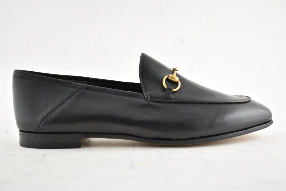 e5762c33a74 Gucci Black Brixton Leather Convertible Jordaan Classic Loafer Mule Slipper  Flats. Size  EU 39 (Approx. US 9) ...