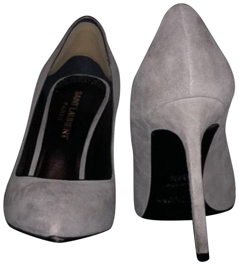 Preload https://img-static.tradesy.com/item/24996696/saint-laurent-grey-suede-yves-pumps-size-us-45-wide-c-d-0-2-540-540.jpg