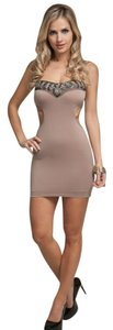 Michele Cutout Which Embellished Dress