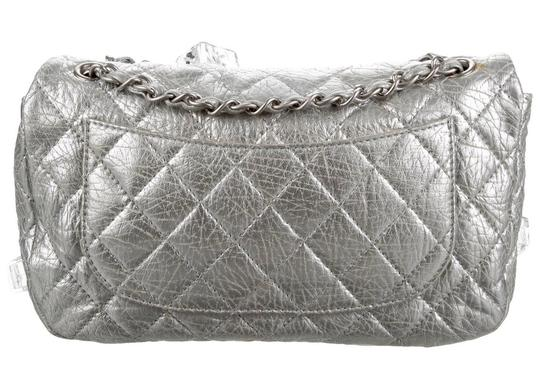 Chanel Classic Flap Cc Logo Ice Cube On The Rocks Shoulder Bag Image 6