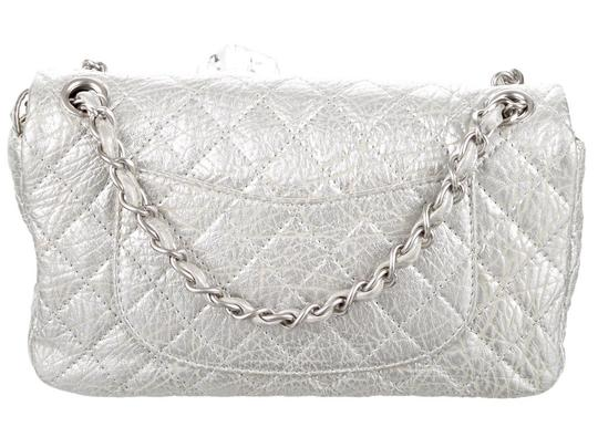 Chanel Classic Flap Cc Logo Ice Cube On The Rocks Shoulder Bag Image 7