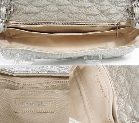 Chanel Classic Flap Cc Logo Ice Cube On The Rocks Shoulder Bag Image 8