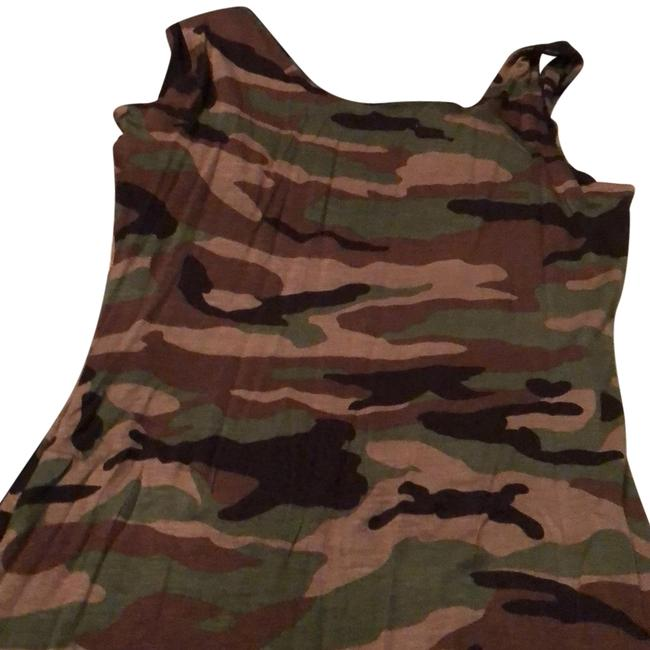 Item - Camouflage Mid-length Casual Maxi Dress Size 8 (M)