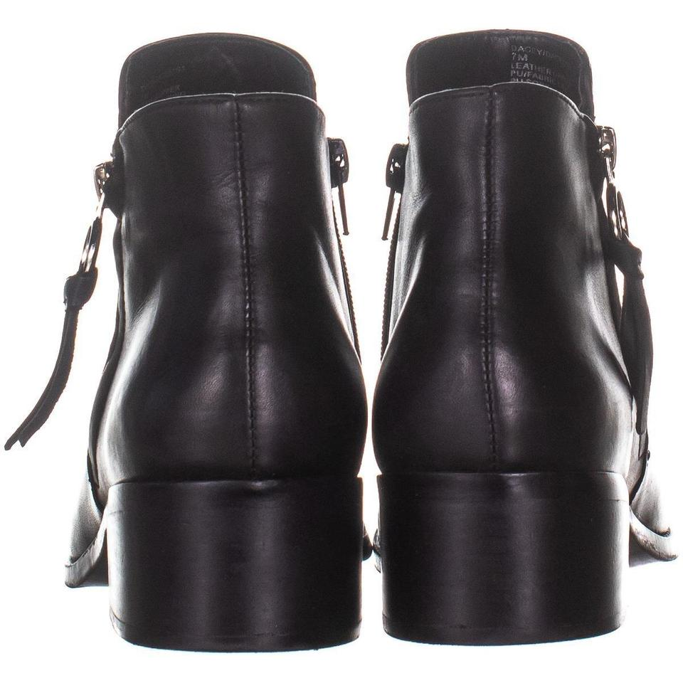 search for authentic great variety models outlet sale Steve Madden Black Dacey Ankle 865 Leather Boots/Booties Size US 7 Regular  (M, B) 44% off retail