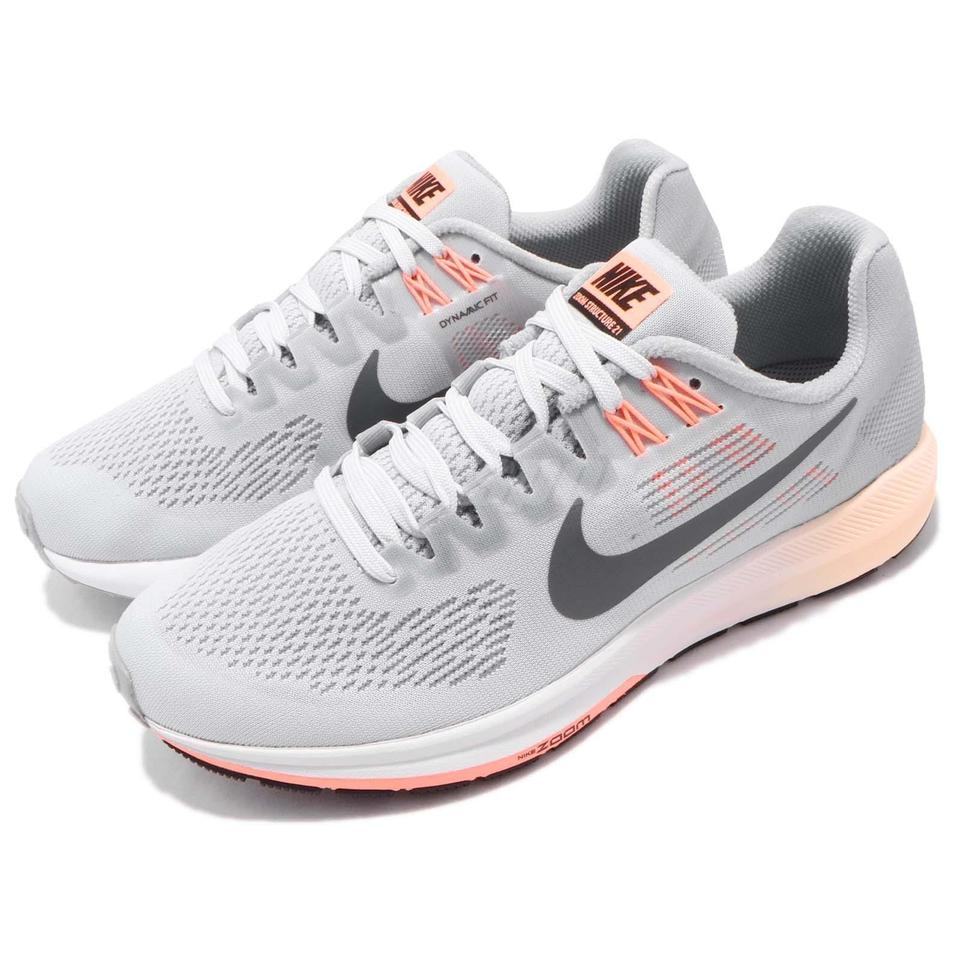 separation shoes a643a 9c9f4 Nike Grey 904701-008 Air Zoom Structure 21 Running Sneakers Size US 12  Regular (M, B)