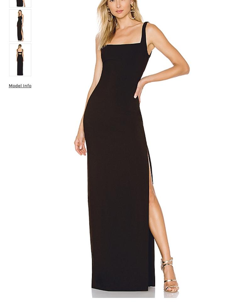 LIKELY Black Phillipa Gown 2/Xs *black* Long