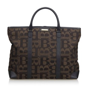 e91a821b7c66 Added to Shopping Bag. Burberry 9bbuto014 Vintage Tote in Brown. Burberry  Monogram Print Brown Canvas Tote
