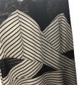 Material Girl short dress black and white on Tradesy
