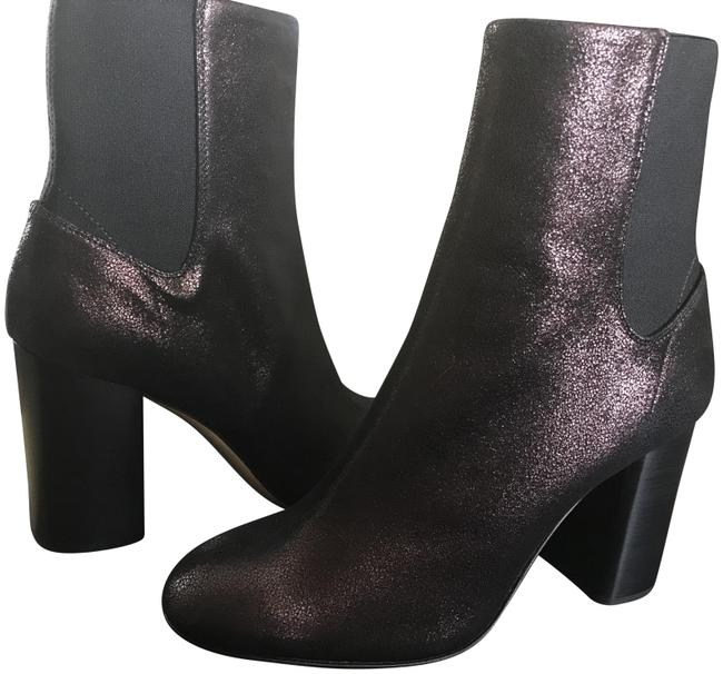 Item - Copper (More Of A Wine) Metallic Boots/Booties Size EU 37.5 (Approx. US 7.5) Regular (M, B)