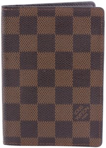 Louis Vuitton Louis Vuitton Damier Ebene Passport Cover