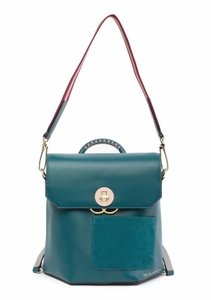 ae40263e74 Ted Baker Adjustable Straps Suede Leather Colour By Numbers Backpack