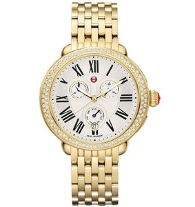 Michele Serein Stainless Mother of Pearl Diamond Dial MWW21A000011