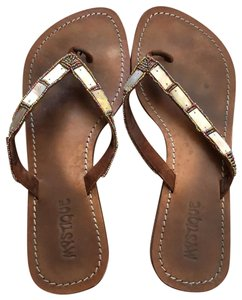 Mystique Boutique taupe brown Sandals